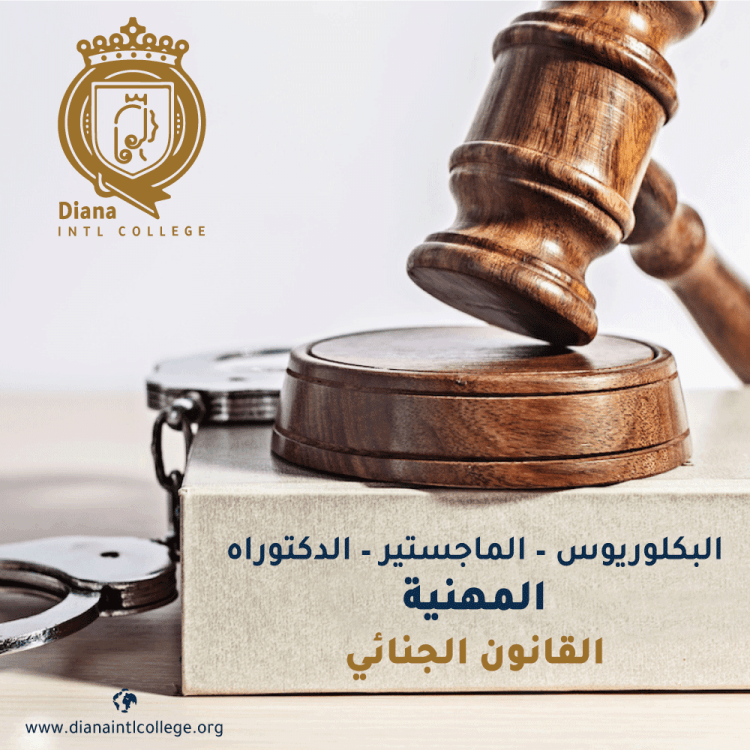 قسم القانون - القانون الجنائي