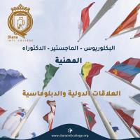 قسم العلاقات الدولية والدبلوماسية